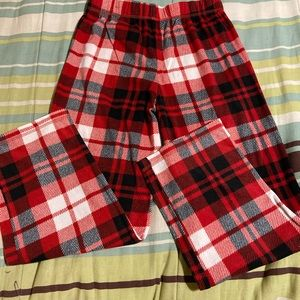 Plaid Pajama Pants.